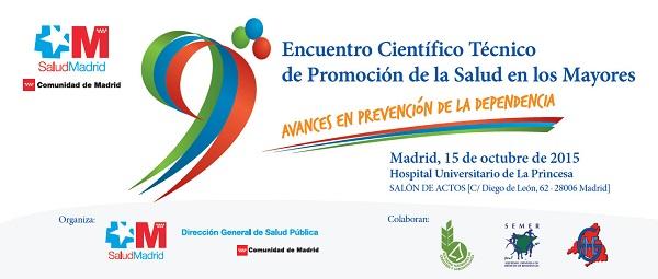 9 Encuentro Científico Técnico de Promoción del a Salud en Mayores